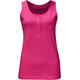 Jack Wolfskin Essential - Camisa sin mangas Mujer - rosa